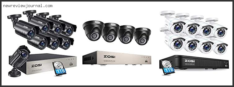 Top 10 Zosi 8 Channel Security Camera System In [2021]