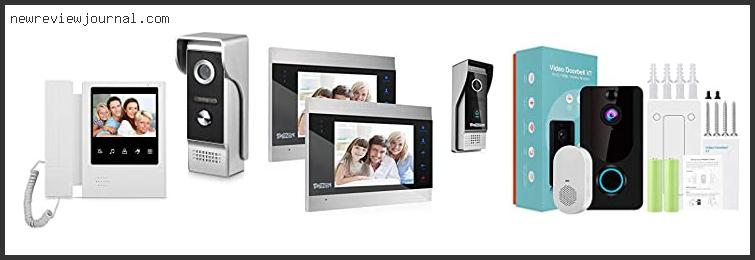 Guide For Door Security Camera Intercom Reviews With Products List