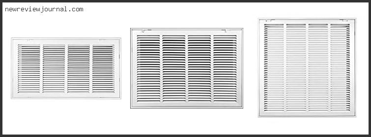 Hinged Return Air Filter Grille