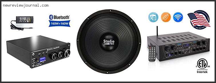 Buying Guide For Best Component Speakers For Bass – To Buy Online