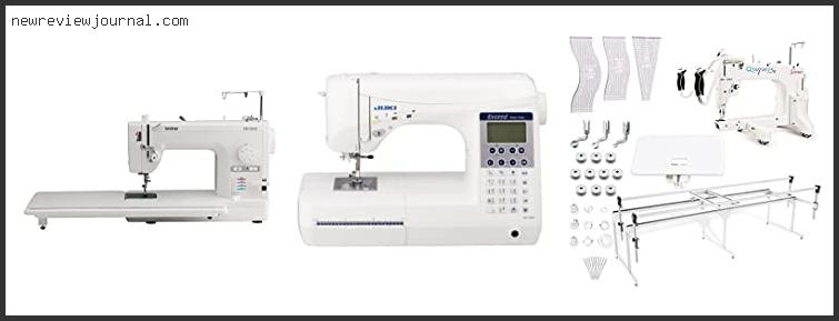 Top 10 Mid Arm Quilting Machines Reviews For You