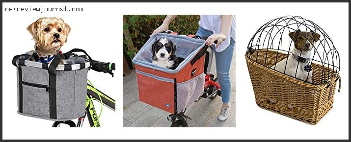 Top #10 Bike Basket For Small Dogs With Expert Recommendation