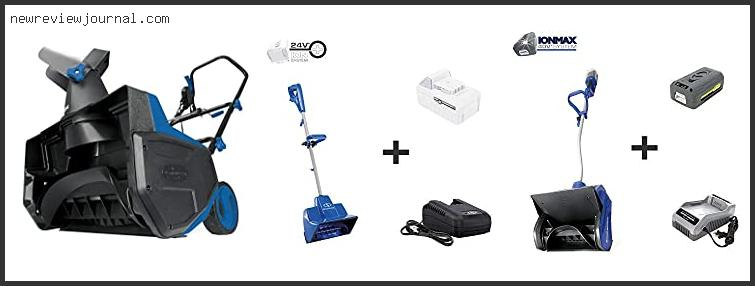 Buying Guide For Best Cordless Electric Snow Shovel Reviews With Products List