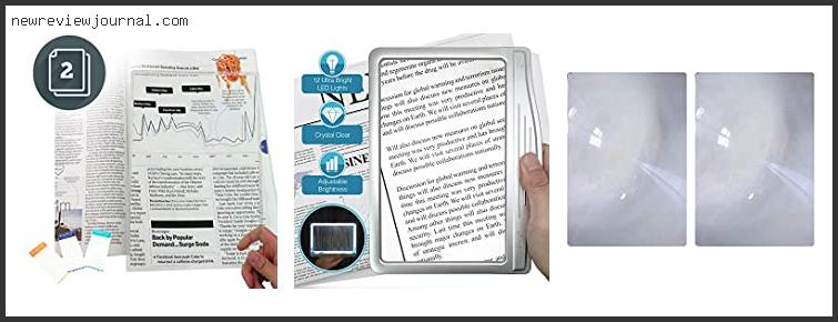 Magnifying Sheet For Reading Books