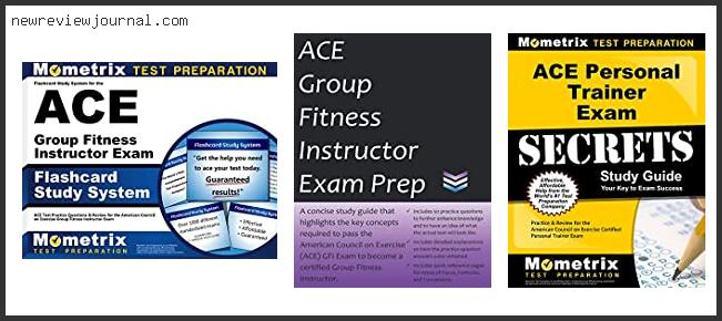 Best #5 – Ace Group Fitness Certification Reviews Based On User Rating