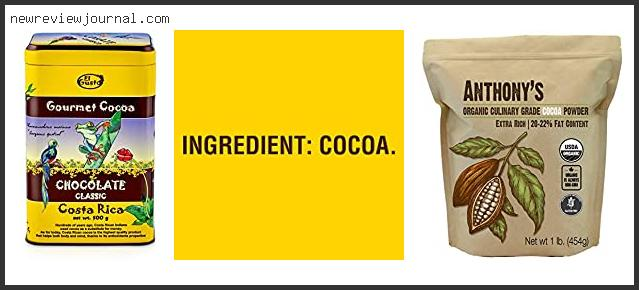 Top #10 Dutch Process Cocoa Powder Walmart Based On Customer Ratings
