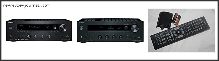 Guide For Onkyo Tx-8160 Review With Products List