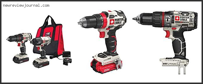 Best #10 – Porter Cable Cordless Drill Reviews With Buying Guide