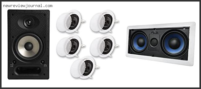 Top 10 Best In Wall Surround Sound Speakers With Expert Recommendation