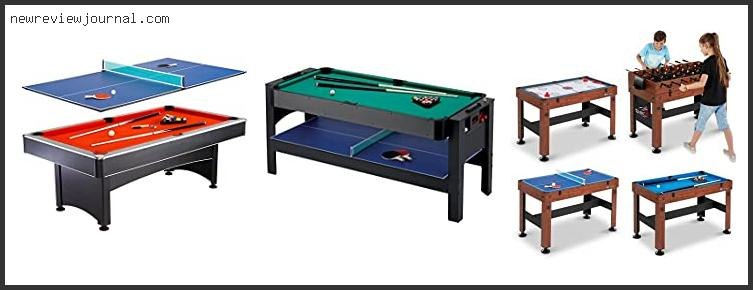 Best #10 – Pool And Table Tennis Combo In [2021]
