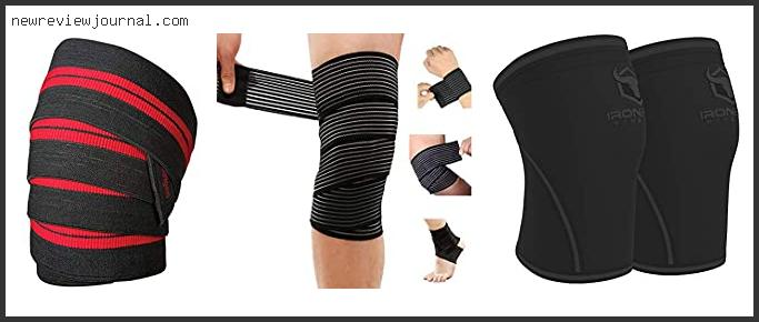 Buying Guide For Best Knee Wraps For Weightlifting With Buying Guide