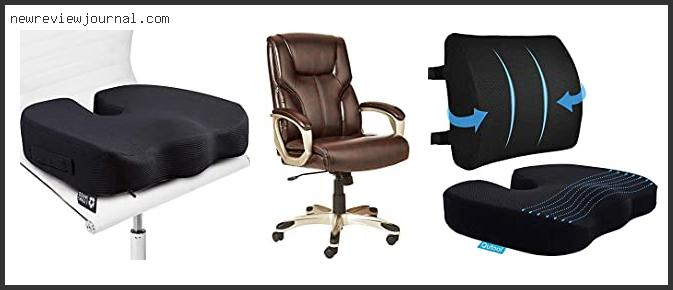 Deals For Best Office Chairs For Sciatica With Expert Recommendation