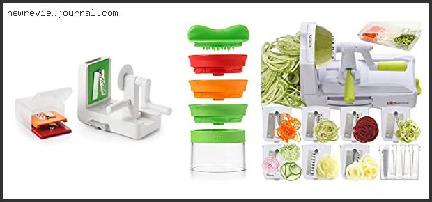 Best Oxo Good Grips Spiralizer Review – Available On Market