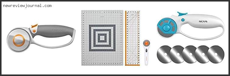 Buying Guide For Best Rotary Cutter For Quilting Based On Scores