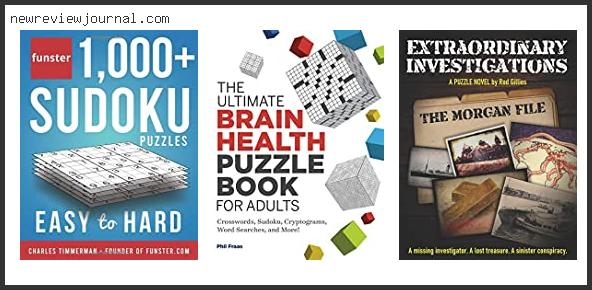 Buying Guide For Best Puzzle Books For Adults Reviews With Products List
