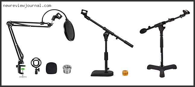 Buying Guide For Desktop Mic Stand With Boom – To Buy Online