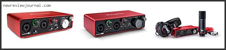 10 Best Focusrite Scarlett 2i2 2nd Gen Review With Expert Recommendation