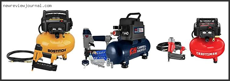 Top 10 Best Compressor For Nail Gun Based On Scores