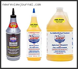 Best #10 – Lucas High Mileage Fuel Treatment Based On Scores