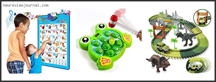 Top Best Gifts For Three Year Old Boys In [2021]