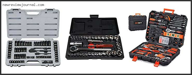 Top 10 Bostitch 65 Piece Socket Set Reviews With Products List