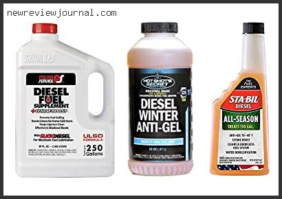 Buying Guide For Best Diesel Anti Gel Additive Reviews For You