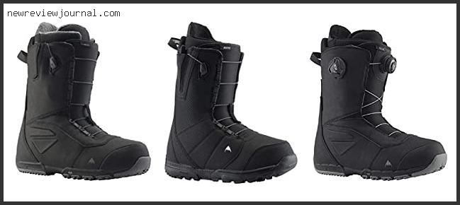 10 Best Burton Ruler Snowboard Boots Review – Available On Market