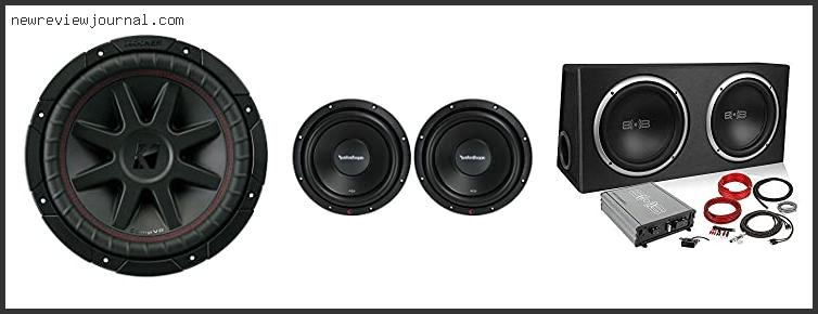 Buying Guide For Best 10 Inch Car Subwoofer Based On Customer Ratings