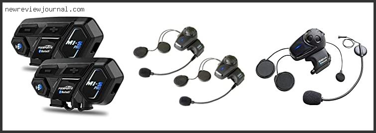 Deals For Best Bluetooth Headset For Motorcycle Helmet Reviews With Products List