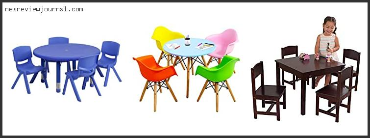 Childrens Round Table And Chairs