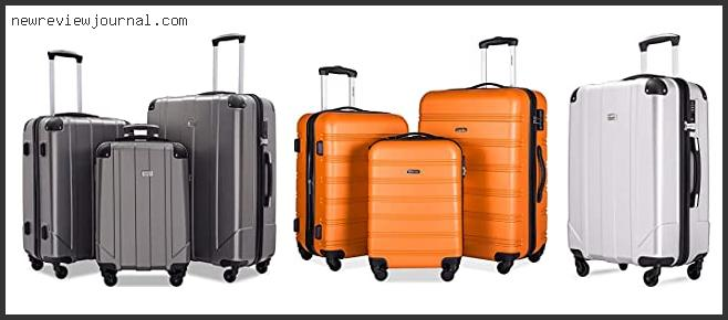 Top 10 Merax Travelhouse Luggage Review Based On Customer Ratings