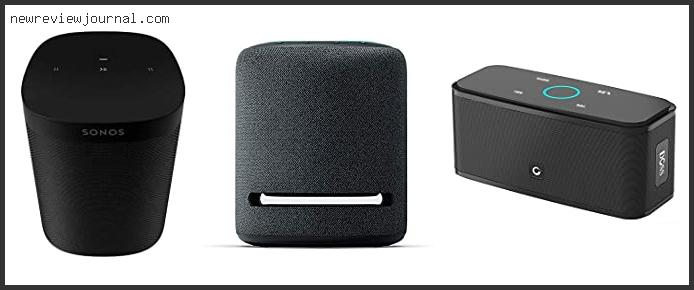 Top Best Smart Speaker For Iphone
