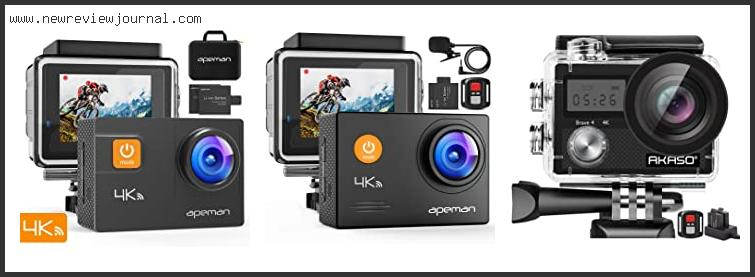 Top 10 Best Affordable 4k New Action Cameras