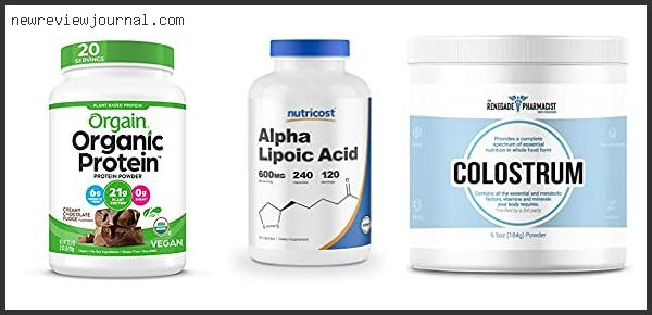 Top 10 Best Colostrum Powder On The Market Based On Scores