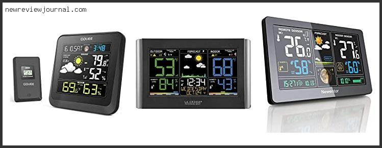 10 Best Home Weather Forecast Station
