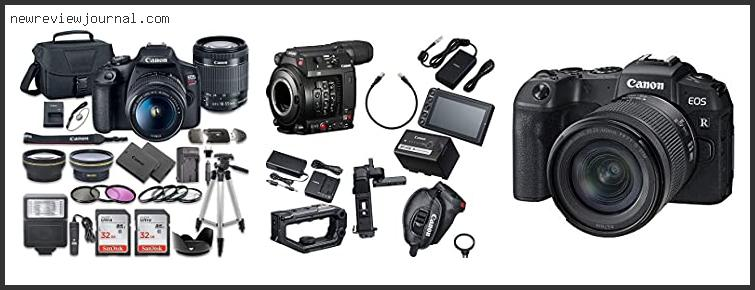 Best Canon Camera For Wedding Videography