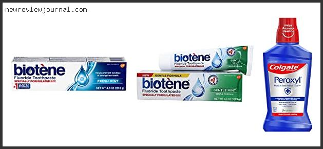 Best Toothpaste For Mouth Sores