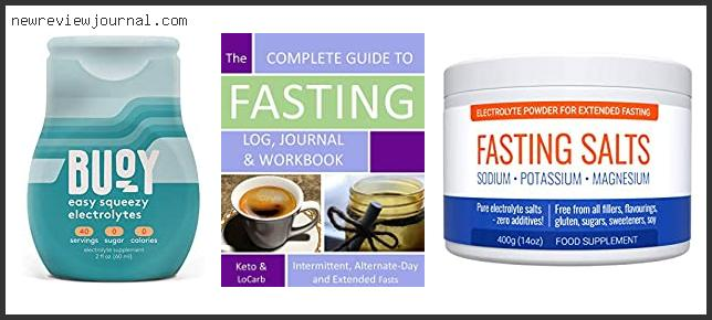 Best Electrolyte Water For Fasting