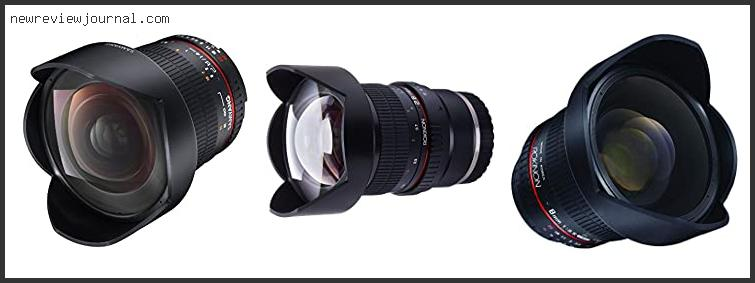 Best Astrophotography Lens For Sony A7iii