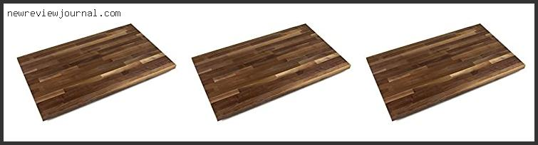 Best Finish For Walnut Countertop
