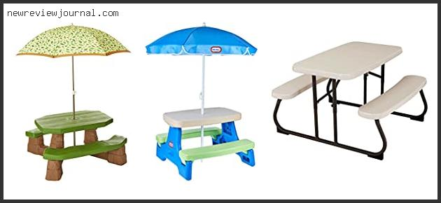 Best Kids Picnic Table For Toddlers In 2020