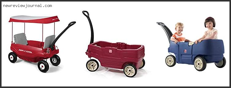 Top 10 Best Wagons For Kid With Seats