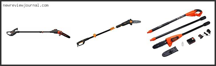 Best Electric Pole Saw With Details Scores