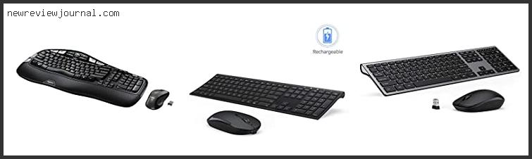 Top 10 Lighted Wireless Keyboard And Mouse Combo Reviews With Scores