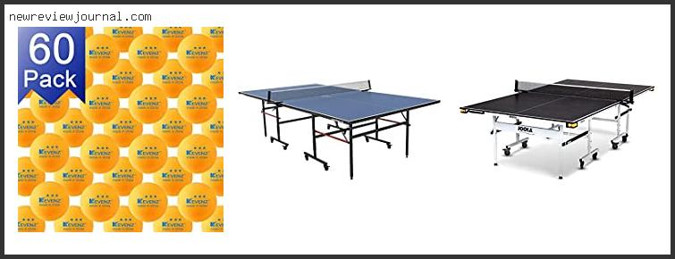 Buying Guide For Regulation Size Ping Pong Tables Reviews With Scores