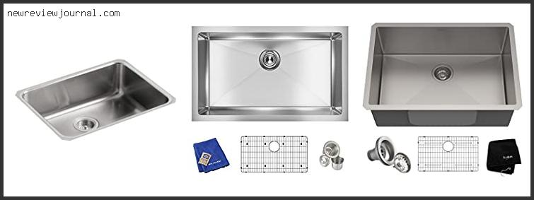 Guide For 8 Inch Deep Undermount Kitchen Sink Based On Scores