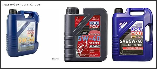 Best Liqui Moly 5w40 Fully Synthetic Review With Buying Guide