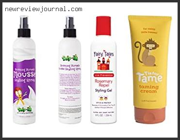Top 10 Safe Hair Gel For Toddlers – To Buy Online