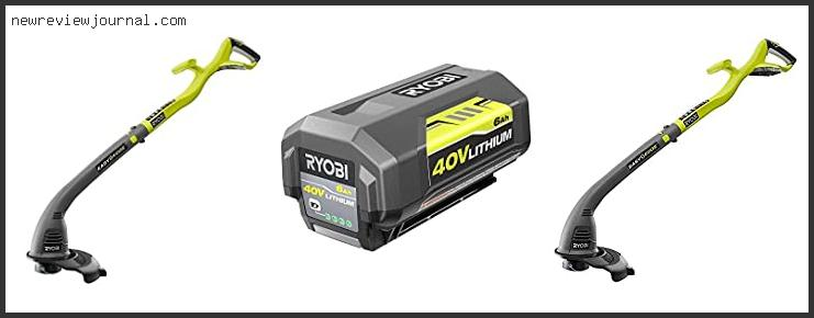 10 Best Ryobi Battery Powered Weed Eater Based On Scores