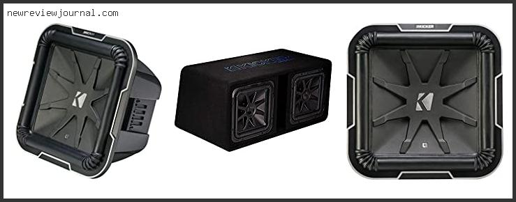 Top 10 Best Box For Kicker L7 12 With Buying Guide